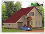 Проект каркасного дома РП-61 (138.1 кв.м.). Каркасные дома.  Проекты домов.